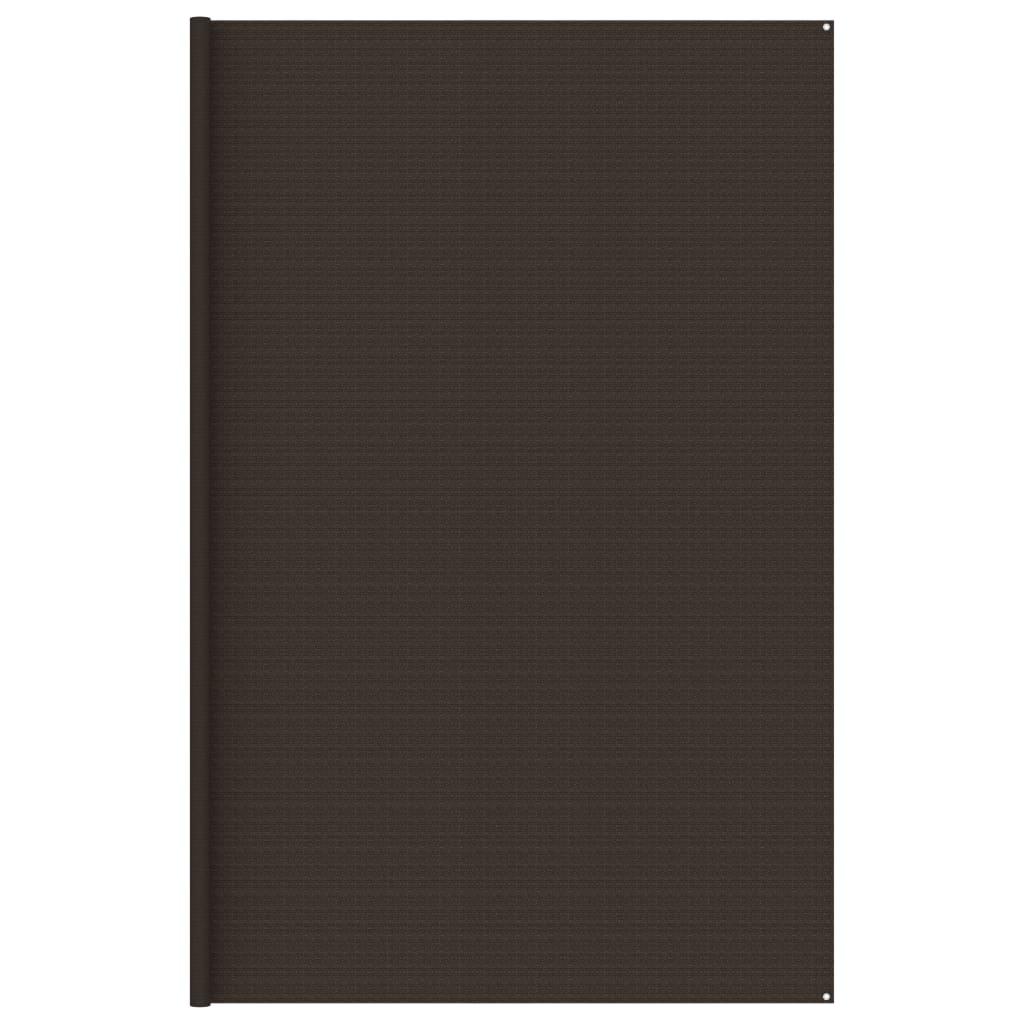 Koberec do stanu 400 x 600 cm hnědý