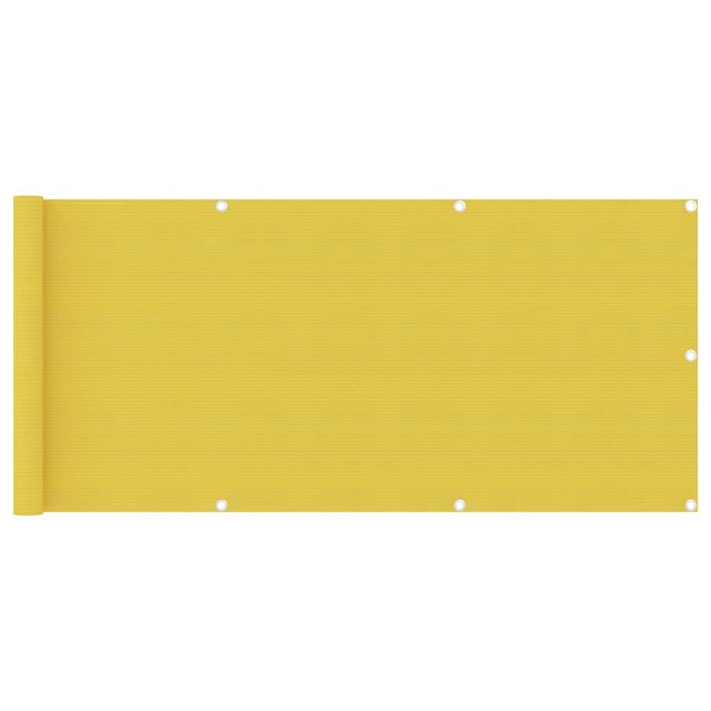 Rõdusirm, kollane, 75 x 500..