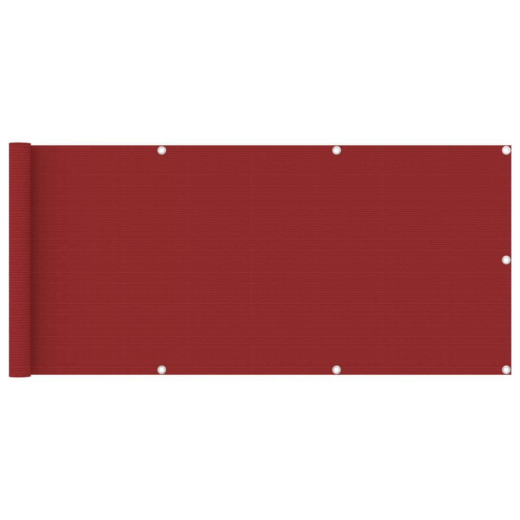 Rõdusirm, punane, 75 x 400 ..