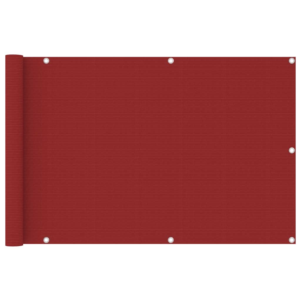 Rõdusirm, punane, 90 x 400 ..