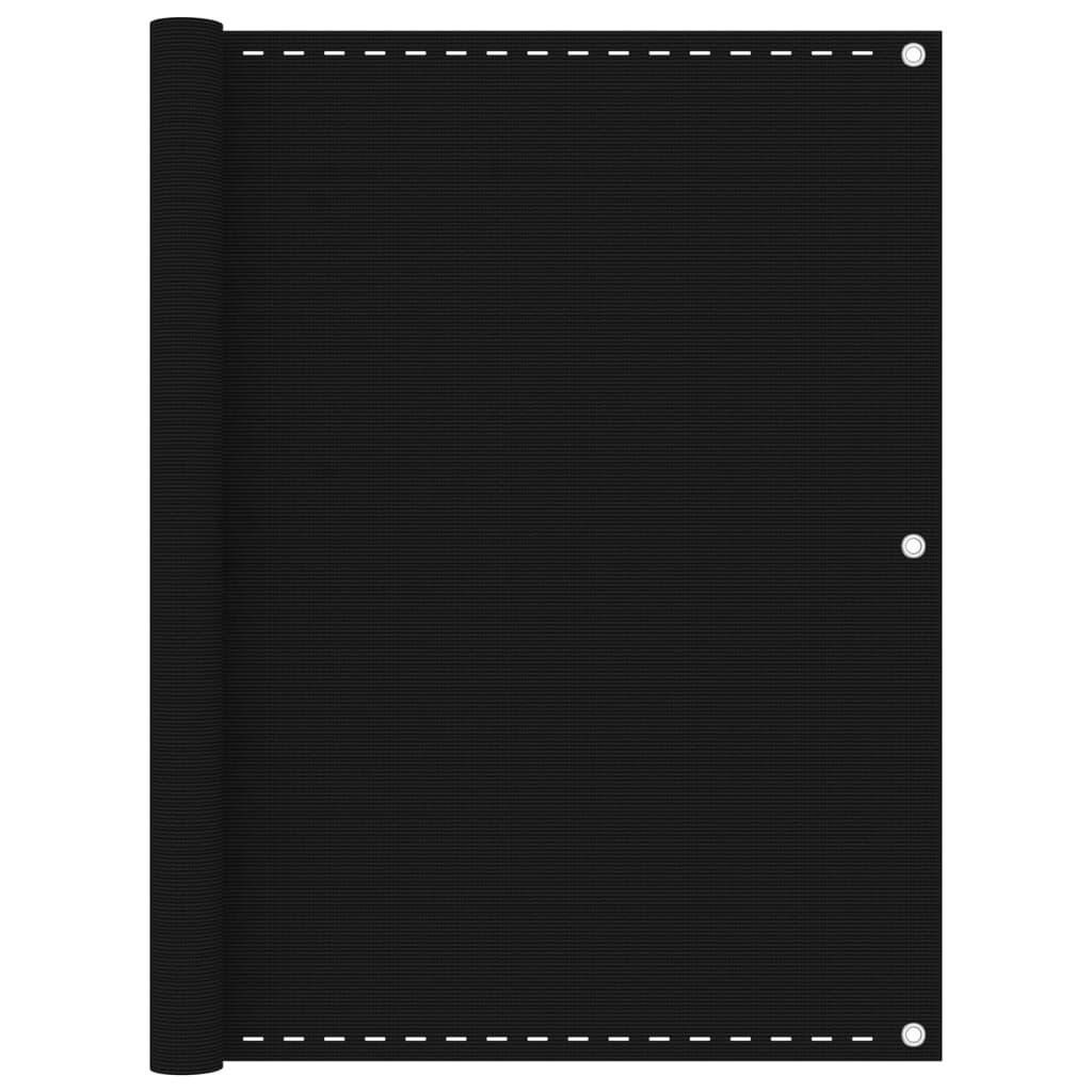 Rõdusirm, must, 120 x 500 c..