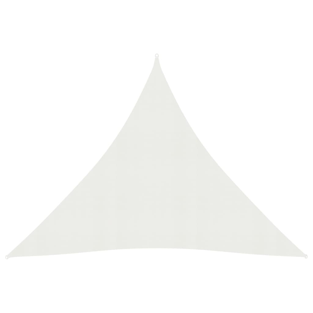 vidaXL Zonnezeil 160 g/m² 4x4x4 m HDPE wit