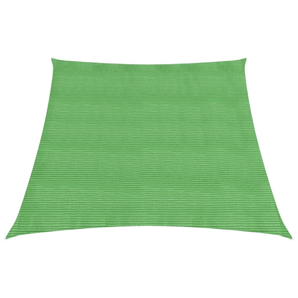 Zonnezeil 160 g/m² 4/5x3 m HDPE lichtgroen
