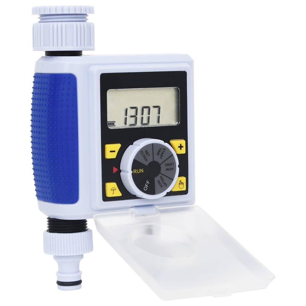 vidaXL Zahradní digitální zavlažovací hodiny s jedním výstupem