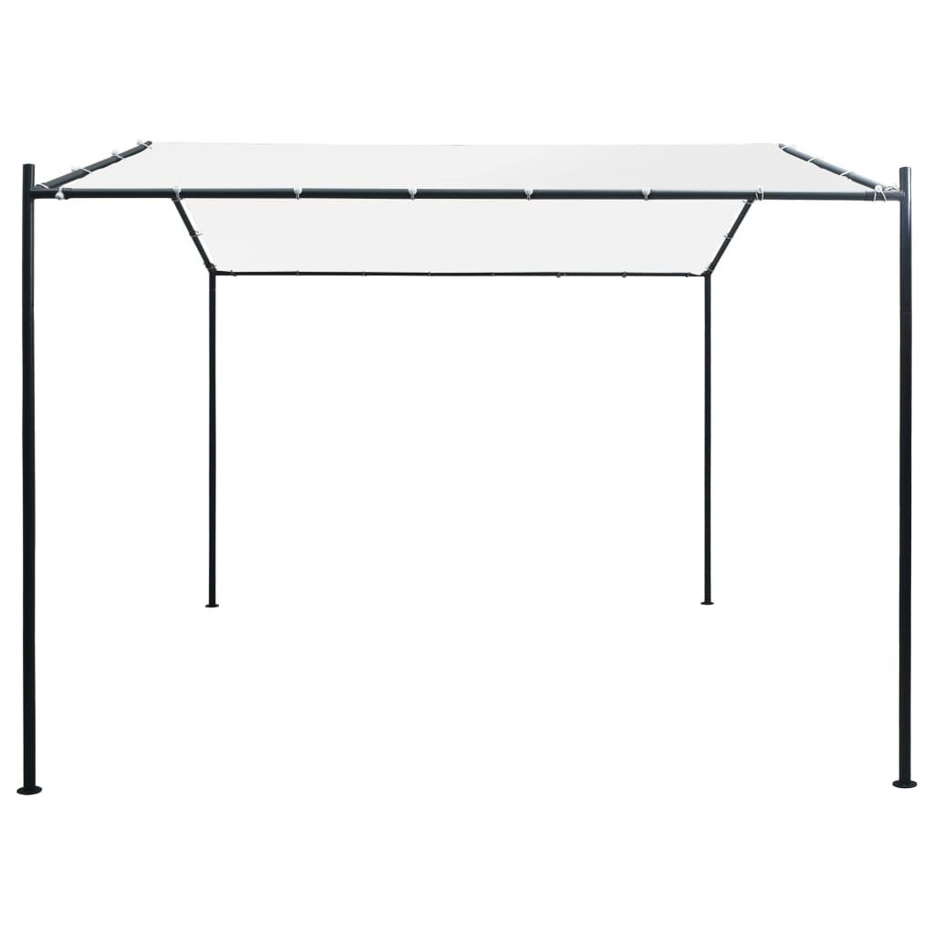vidaXL Prieel 180 g/m² 3x3x2,6 m wit