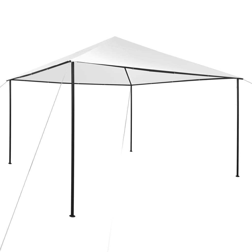 vidaXL Prieel 180 g/m² 4x4x2,7 m wit