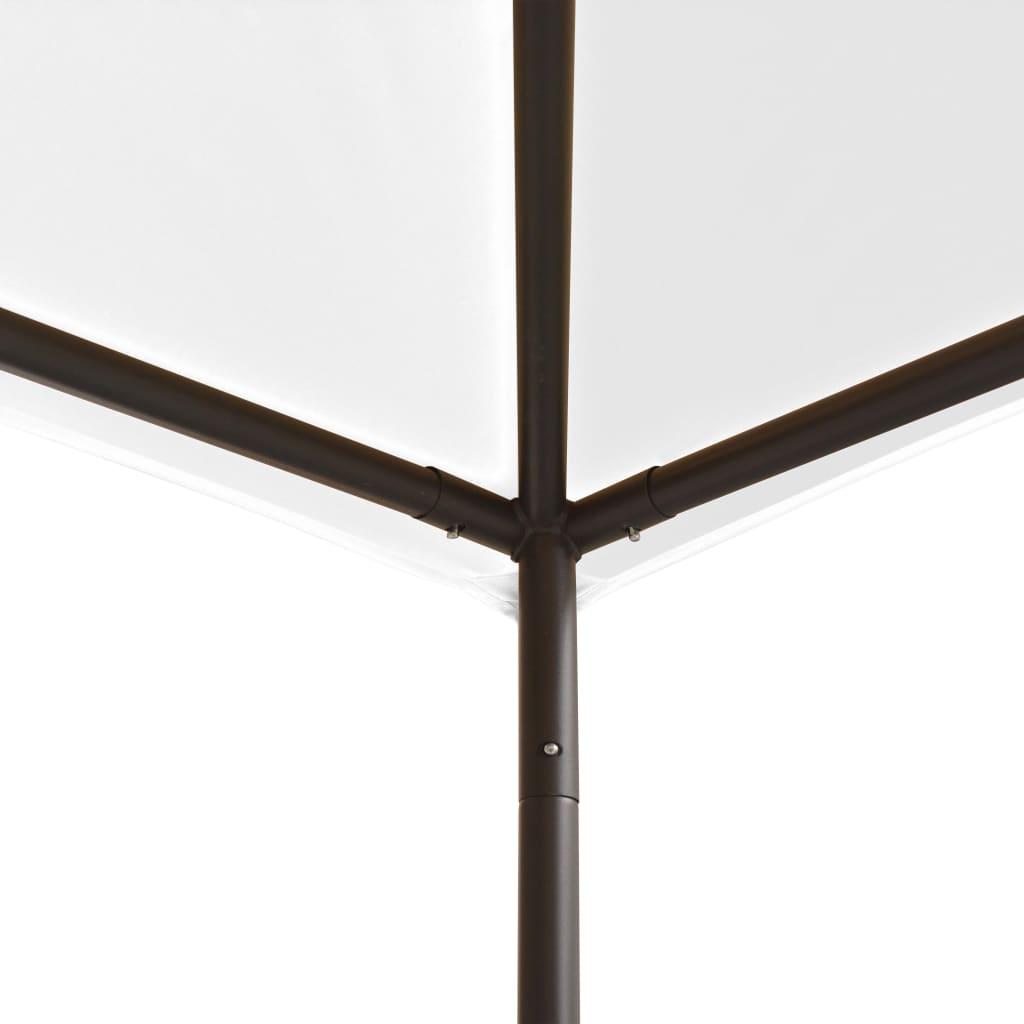 vidaXL Prieel 180 g/m² 3x3x2,7 m wit