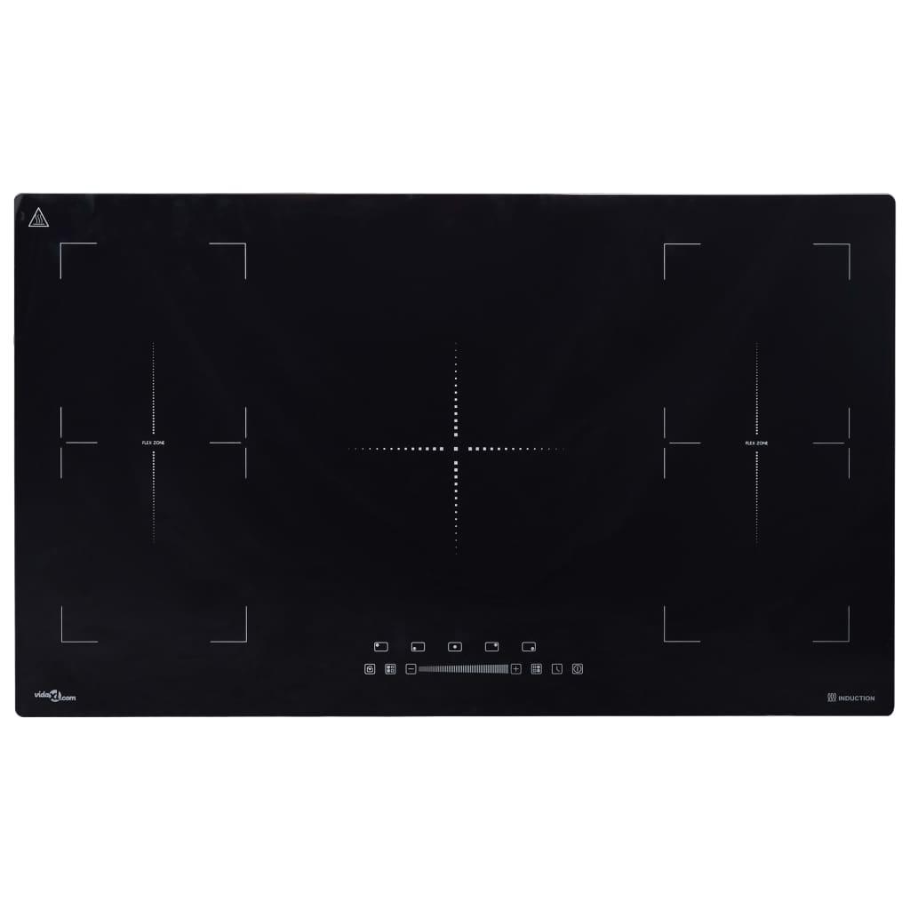 vidaXL Plită inducție încorporată Flexizone control tactil 3000W 86 cm imagine vidaxl.ro