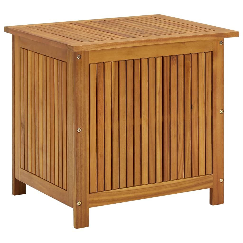 vidaXL Ladă de depozitare grădină, 60x50x106 cm, lemn masiv de acacia imagine vidaxl.ro