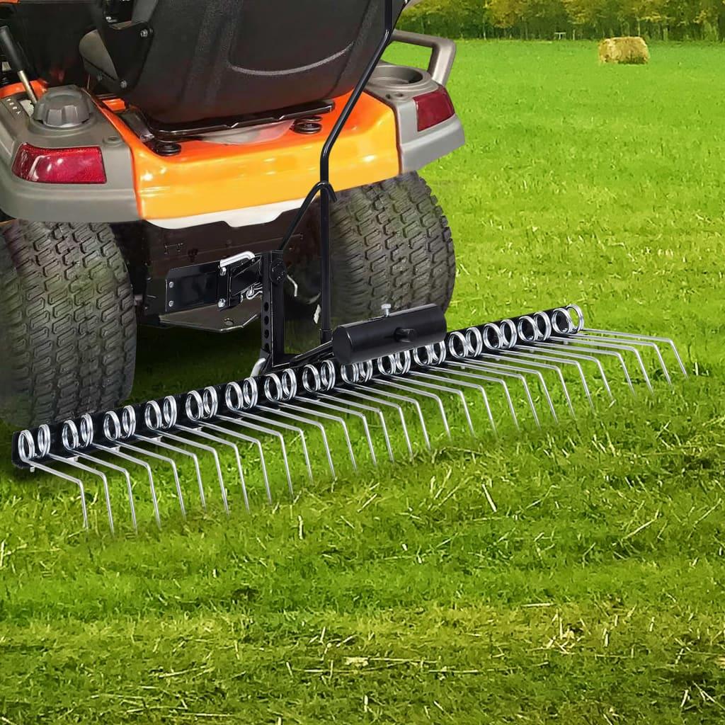 vidaXL Scarificator pentru mașină de tuns iarbă ride-on, 120 cm imagine vidaxl.ro