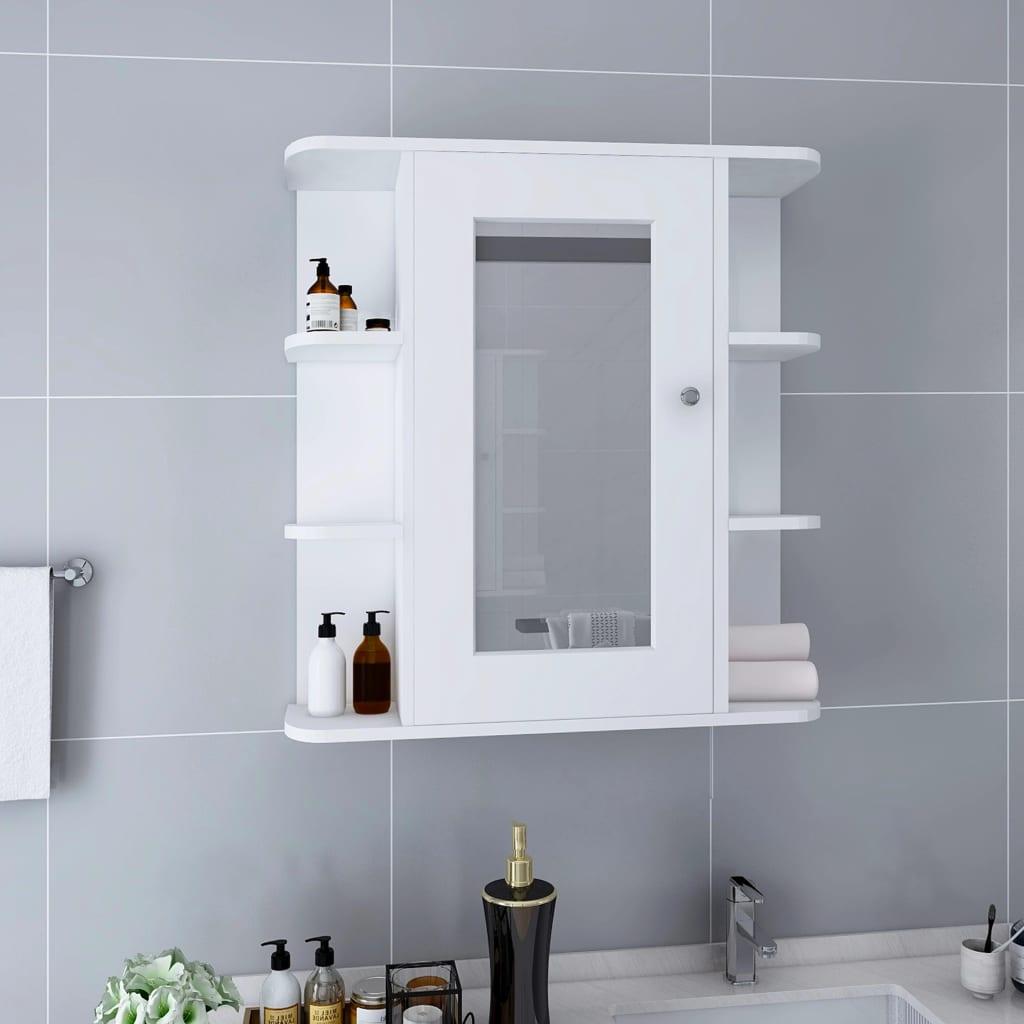 Vannitoa peegelkapp, valge, ..