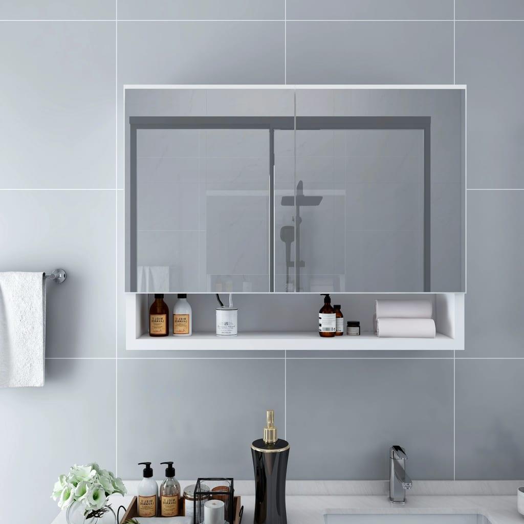 LEDidega vannitoa peegelkapp..