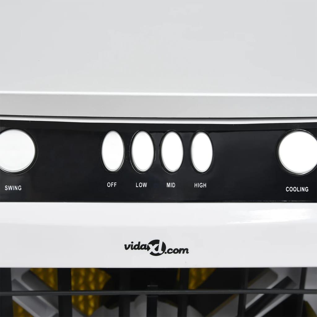 Airconditioner mobiel 3-in-1 80 W 73x38x30,5 cm wit en zwart