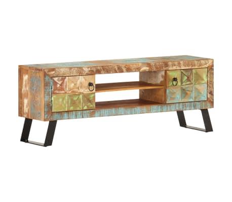 vidaXL Tv-meubel 120x30x46 cm massief gerecycled hout