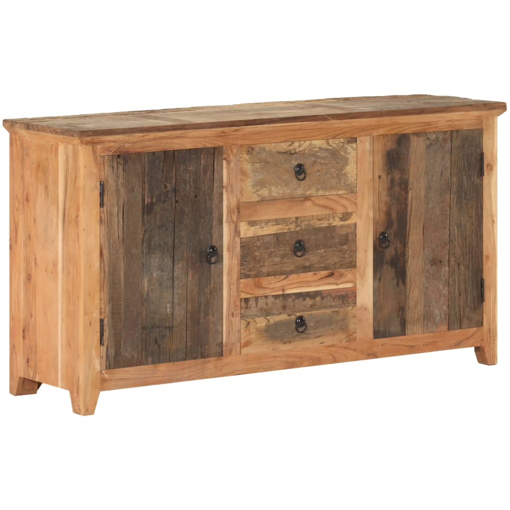 vidaXL Dressoir 140x40x75 cm massief gerecycled hout