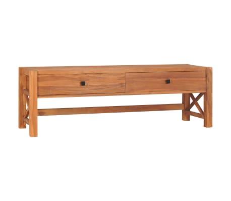 vidaXL Tv-meubel 140x40x45 cm gerecycled teakhout