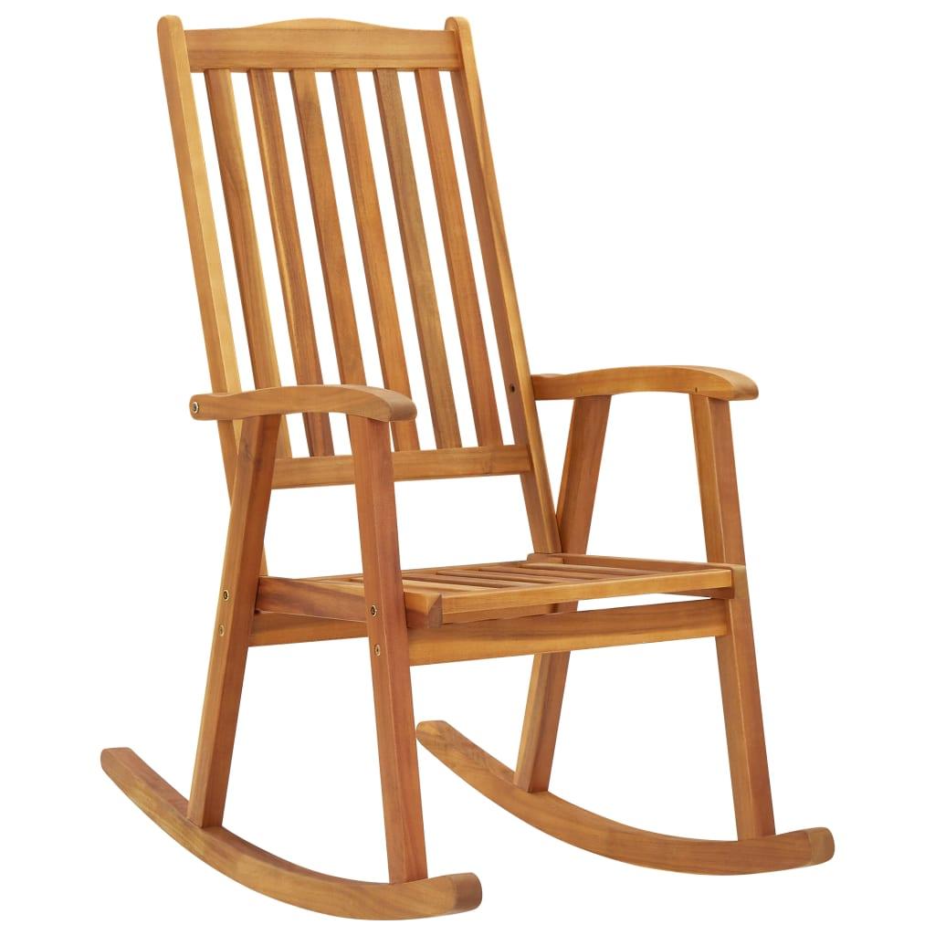 vidaXL Balansoar, lemn masiv de acacia imagine vidaxl.ro