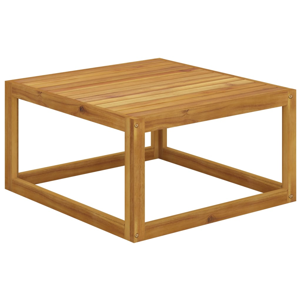 Konferenční stolek 68 x 68 x 29 cm masivní akáciové dřevo