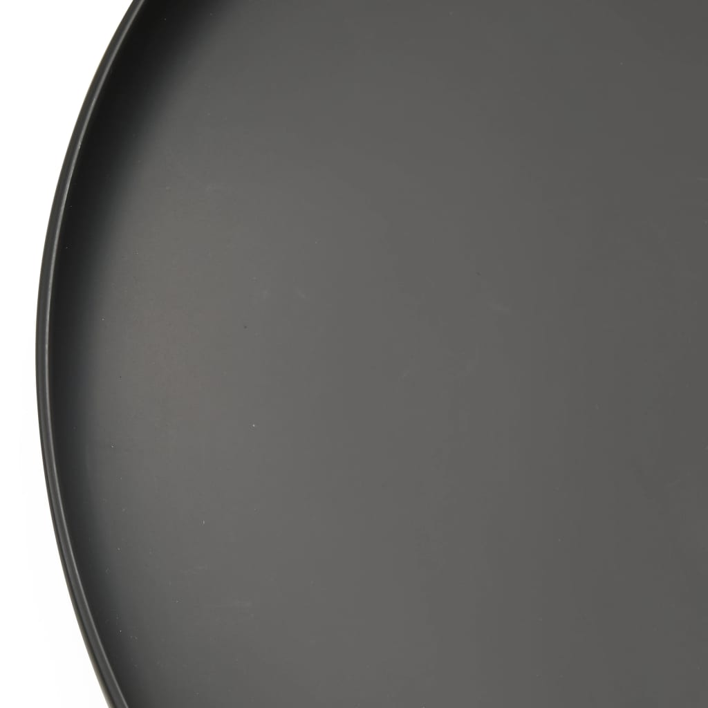 vidaXL Vatră de foc, 59 cm, oțel