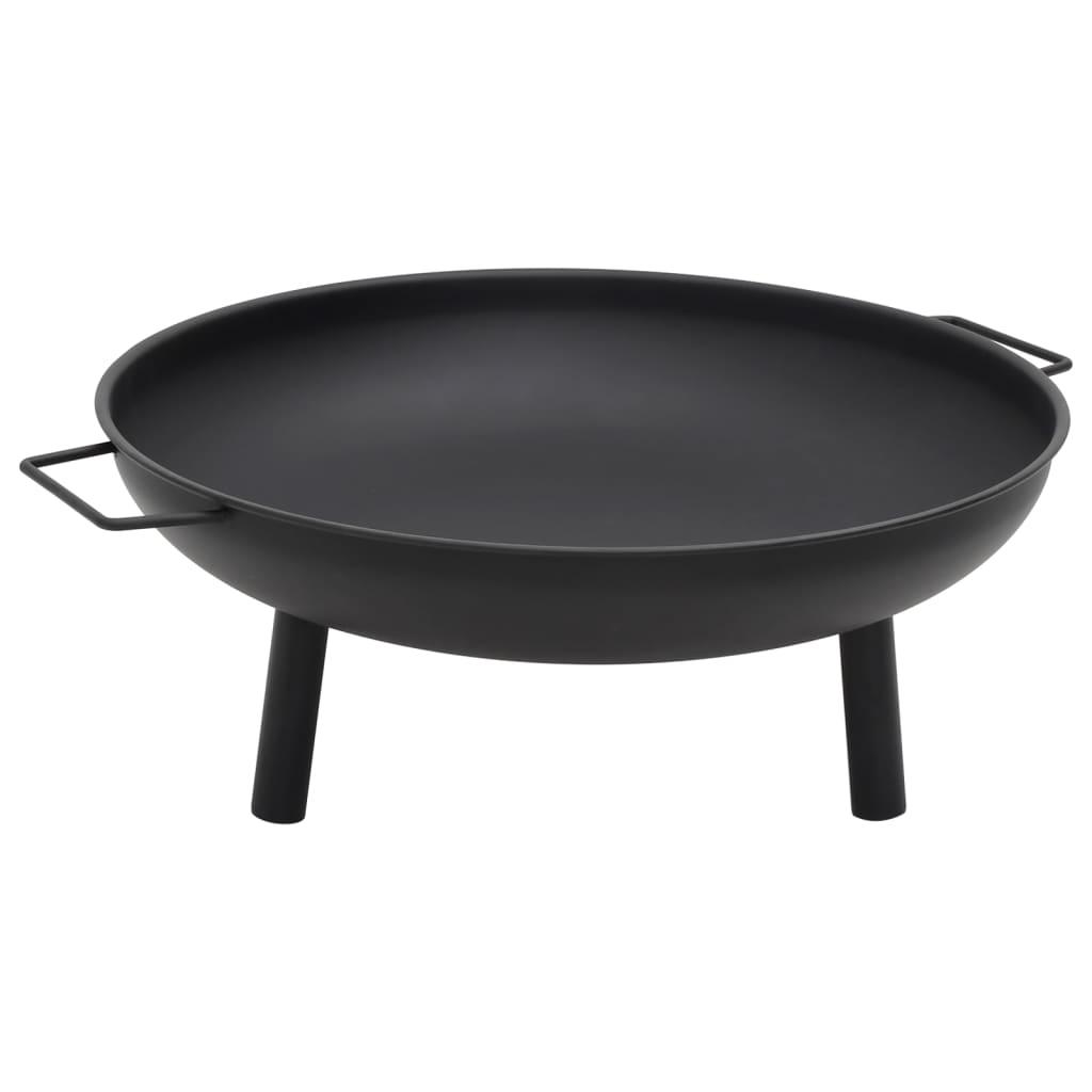 vidaXL Vatră de foc, 91x81,5x40 cm, oțel