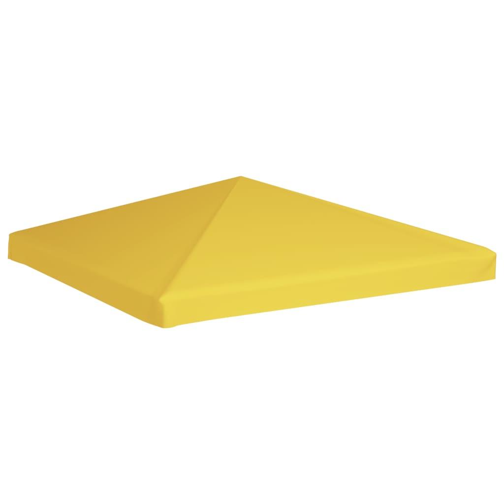 vidaXL Acoperiș de pavilion, galben, 3 x 3 m, 270 g/m² poza vidaxl.ro