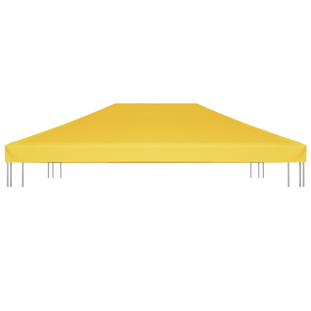 vidaXL Prieeldak 270 g/m² 4x3 m geel