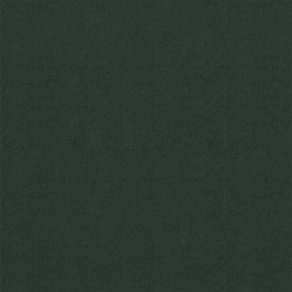 vidaXL Balkonscherm 120x600 cm oxford stof donkergroen