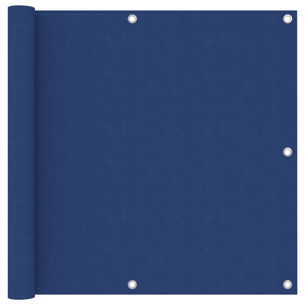 Balkónová zástěna modrá 90 x 300 cm oxfordská látka