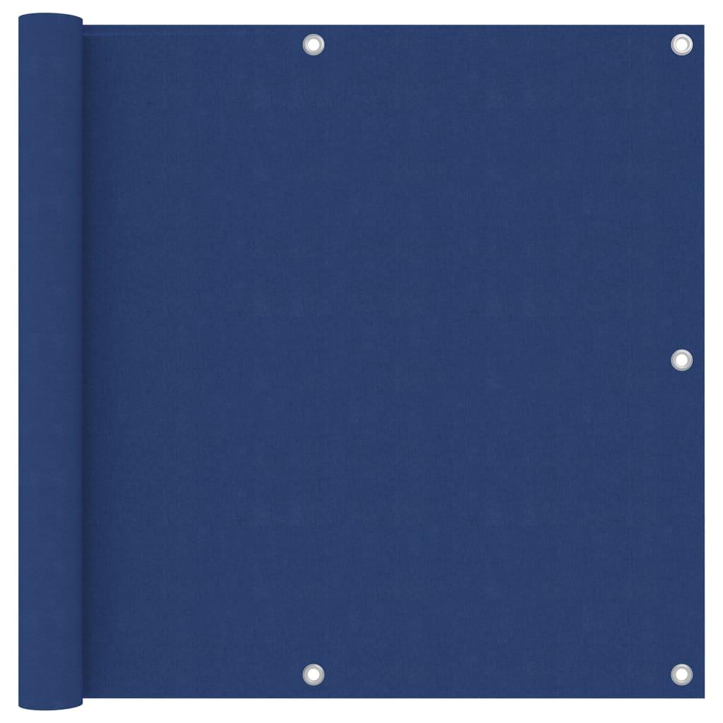 vidaXL Paravan de balcon, albastru, 90 x 400 cm, țesătură oxford vidaxl.ro