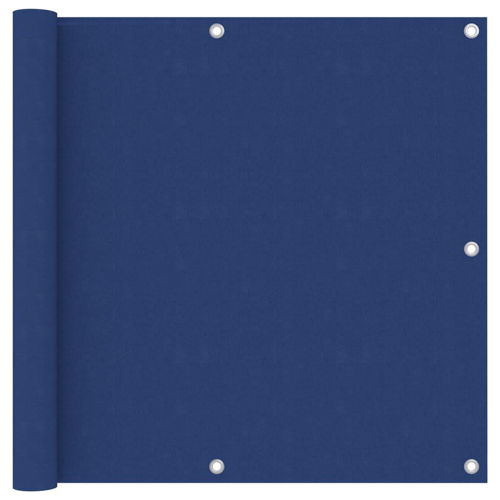 vidaXL Paravan de balcon, albastru, 90 x 600 cm, țesătură oxford poza 2021 vidaXL