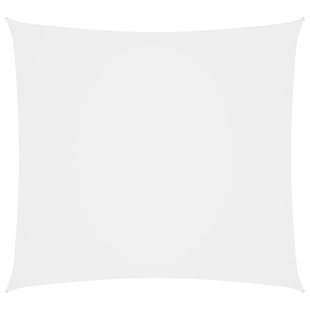 Zonnescherm vierkant 4x4 m oxford stof wit