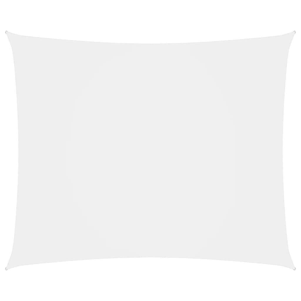 vidaXL Parasolar, alb, 6x8 m, țesătură oxford, dreptunghiular