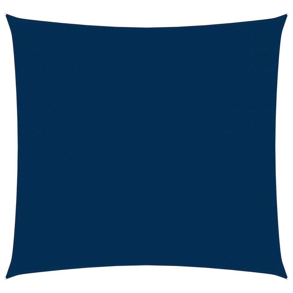 Zonnescherm vierkant 3,6x3,6 m oxford stof blauw