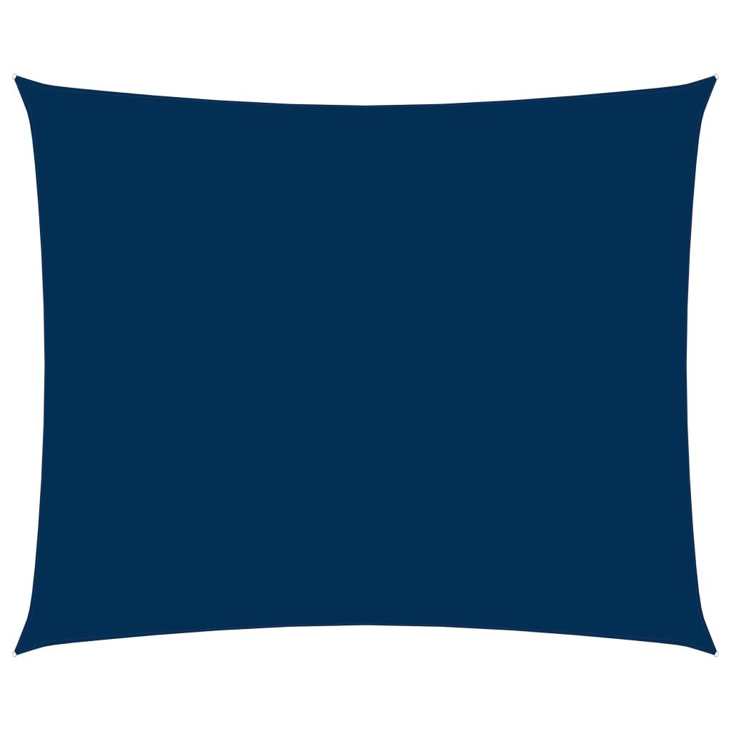 vidaXL Zonnescherm rechthoekig 2x3 m oxford stof blauw