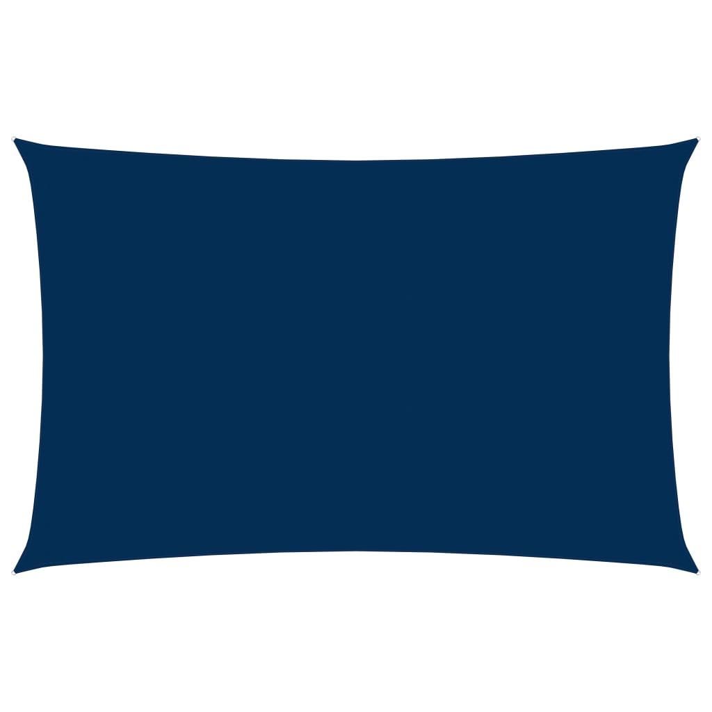 vidaXL Zonnescherm rechthoekig 5x8 m oxford stof blauw