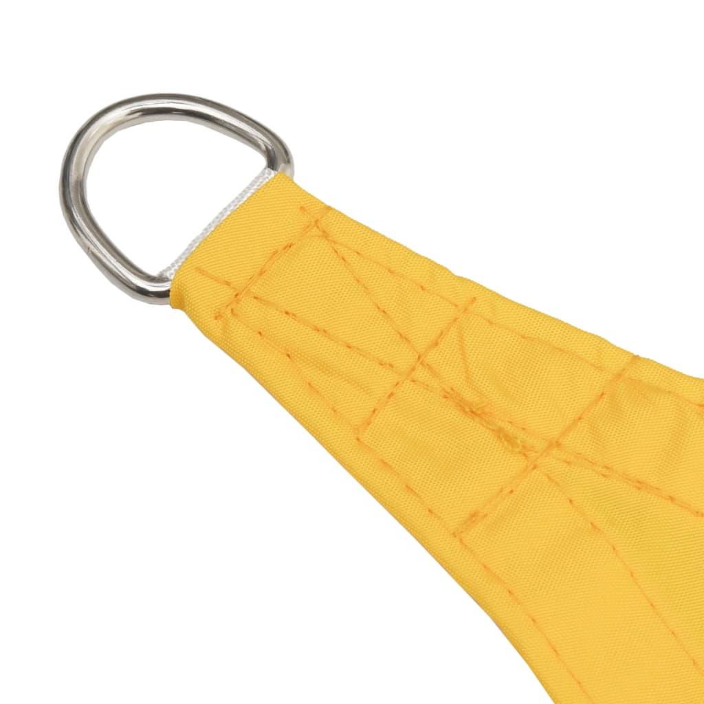 vidaXL Zonnescherm rechthoekig 5x6 m oxford stof geel