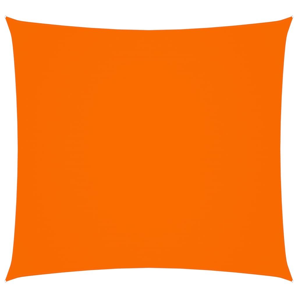 Zonnescherm vierkant 4x4 m oxford stof oranje