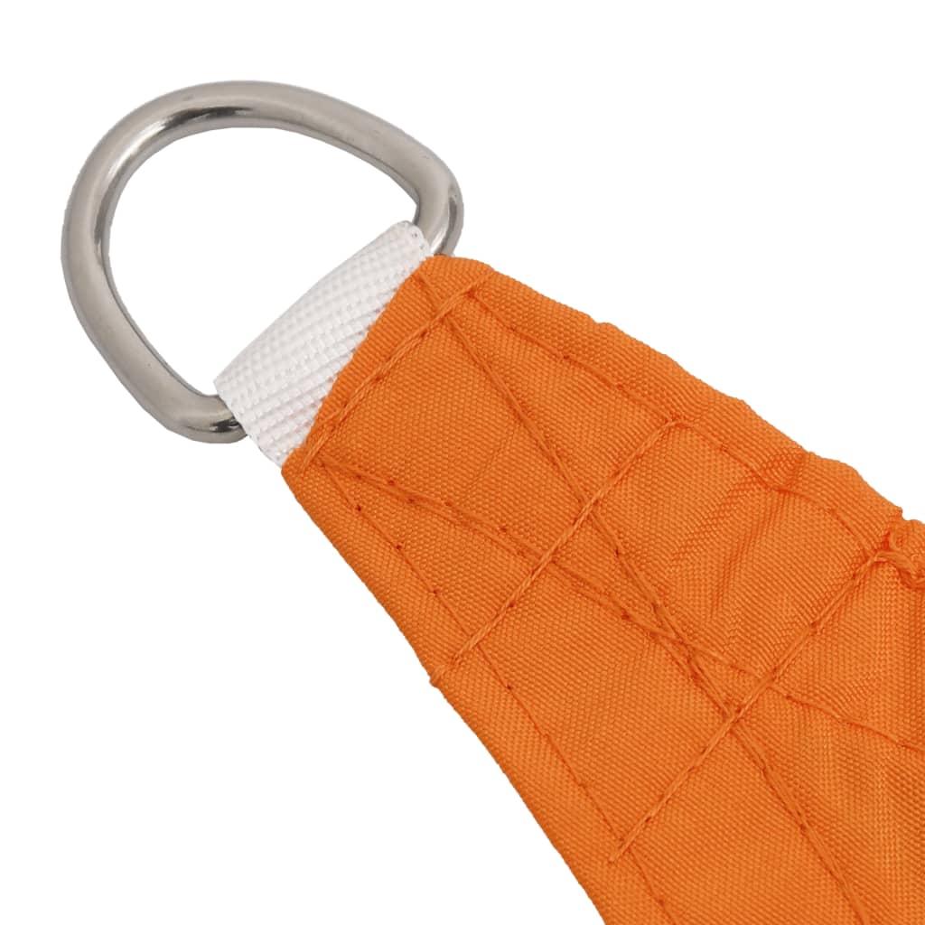 vidaXL Zonnescherm rechthoekig 4x5 m oxford stof oranje