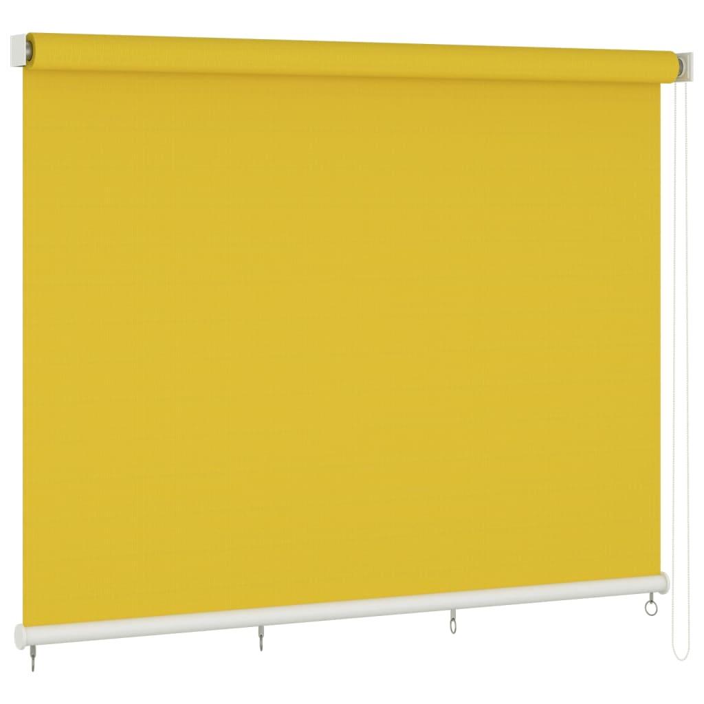 vidaXL Außenrollo 400×140 cm Gelb