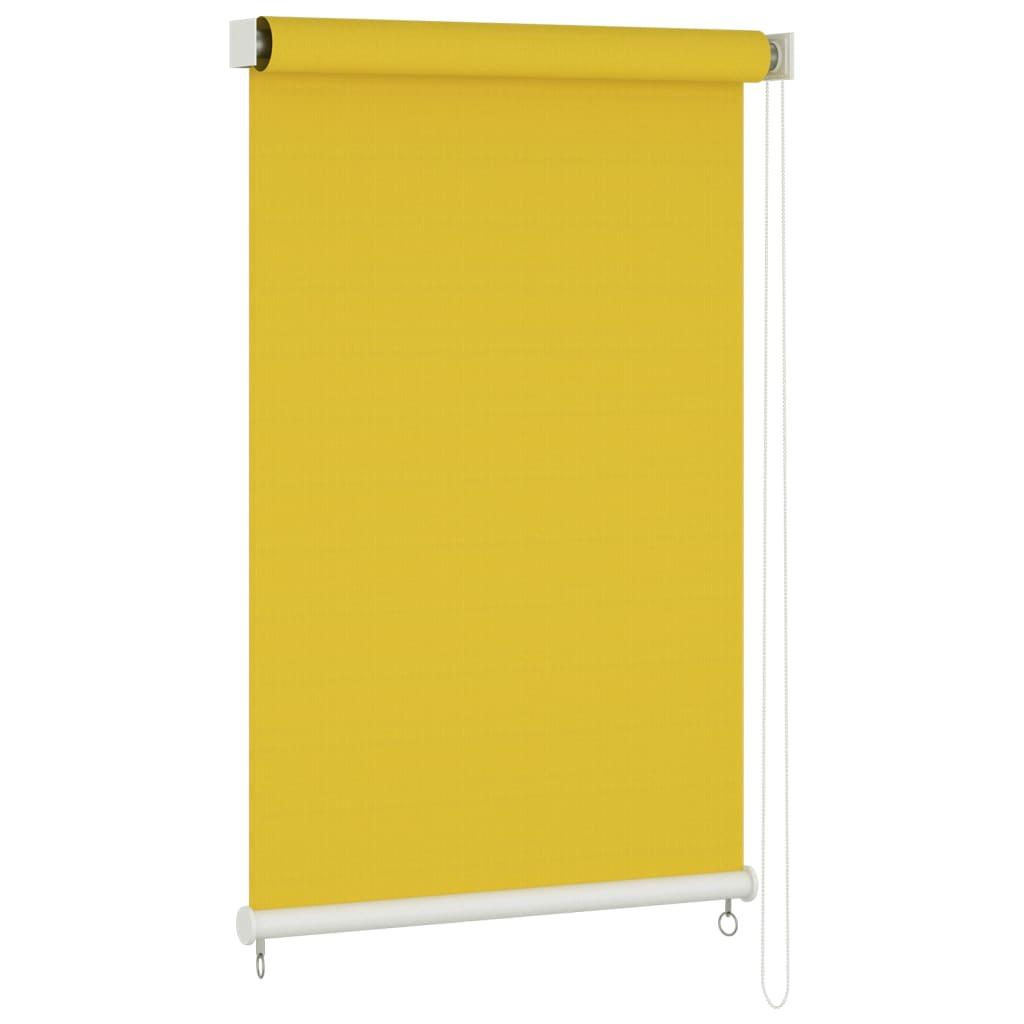 Außenrollo 160×230 cm Gelb