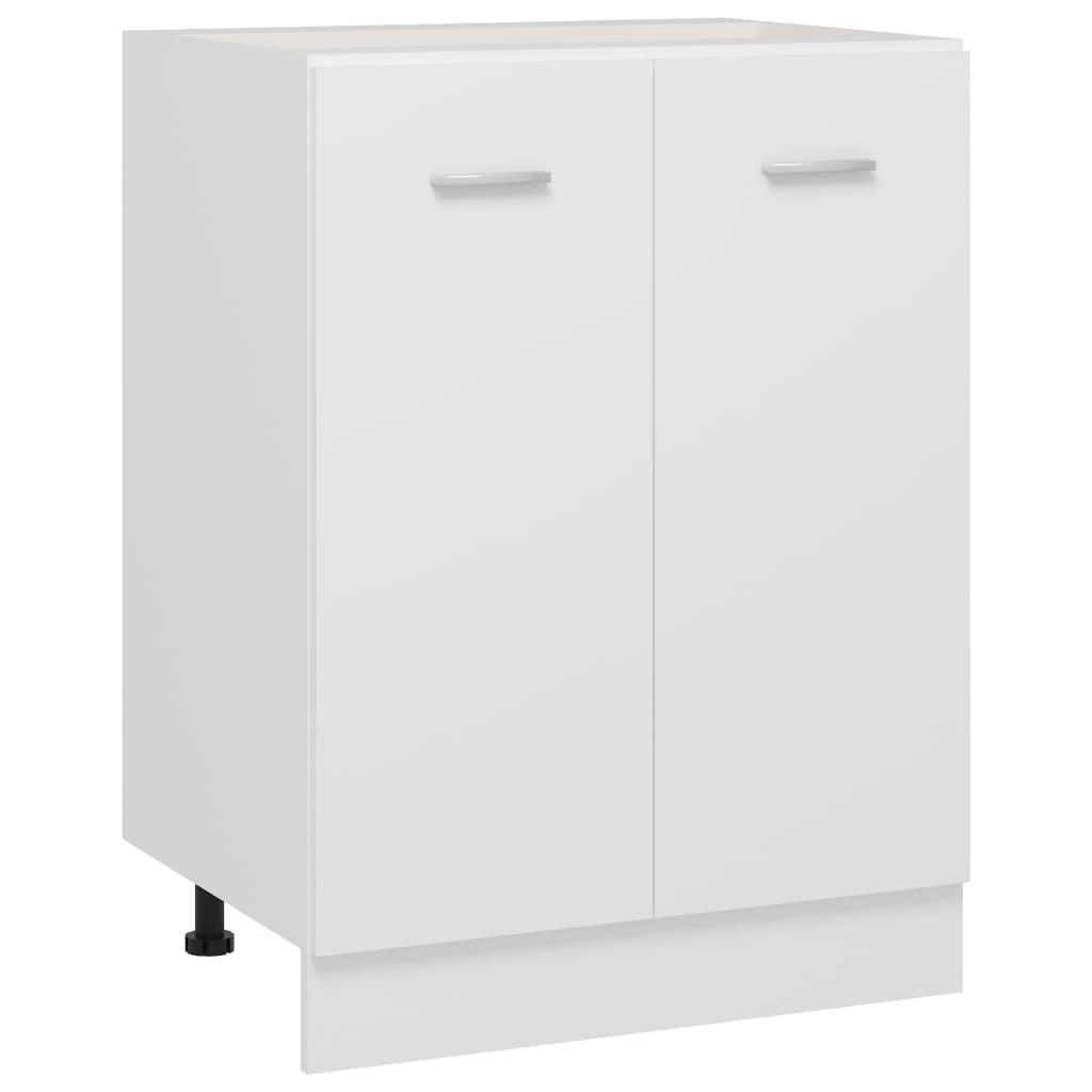vidaXL Dulap inferior, alb, 60 x 46 x 81,5 cm, PAL poza 2021 vidaXL