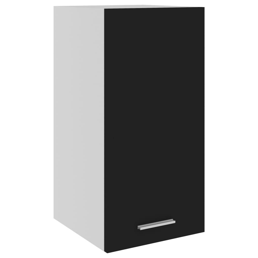 vidaXL Dulap suspendat, negru, 29,5x31x60 cm, PAL vidaxl.ro