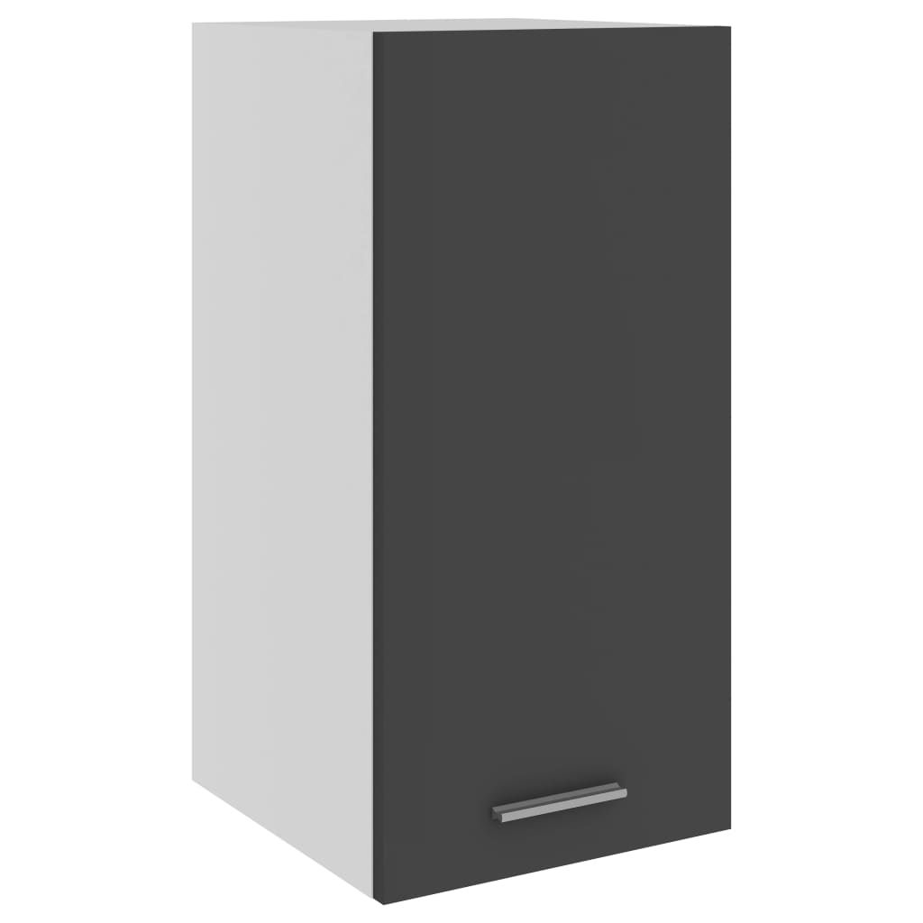 Horní skříňka šedá 29,5 x 31 x 60 cm dřevotříska