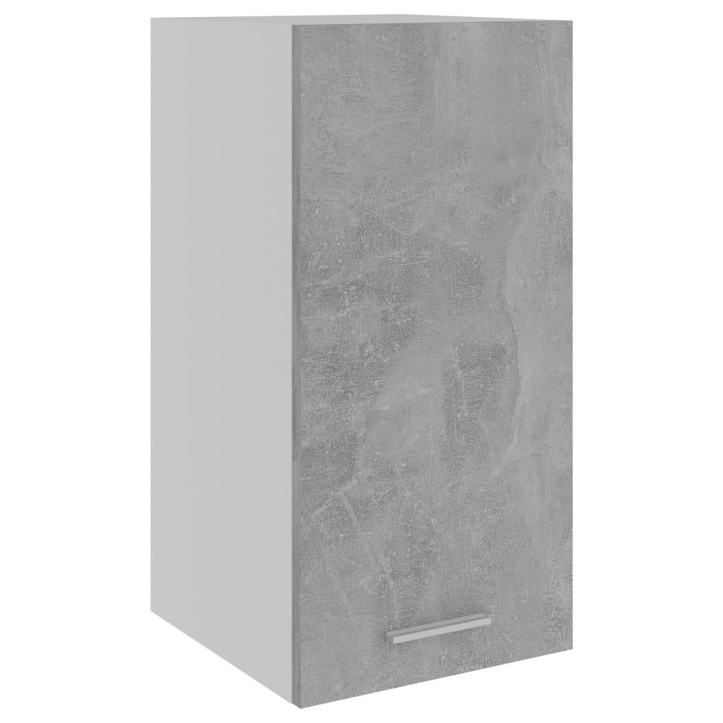 vidaXL Dulap suspendat, gri beton, 29,5 x 31 x 60 cm, PAL poza 2021 vidaXL