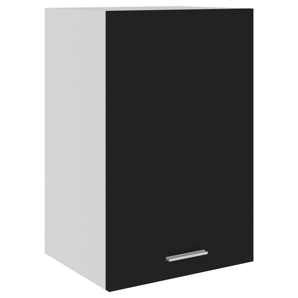 vidaXL Hangkast 39,5x31x60 cm spaanplaat zwart