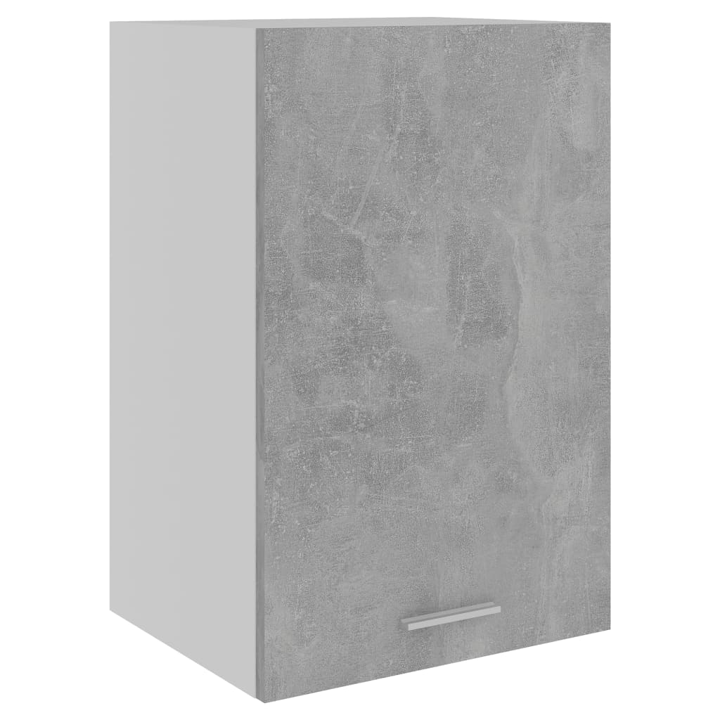 vidaXL Dulap suspendat, gri beton, 39,5x31x60 cm, PAL poza 2021 vidaXL