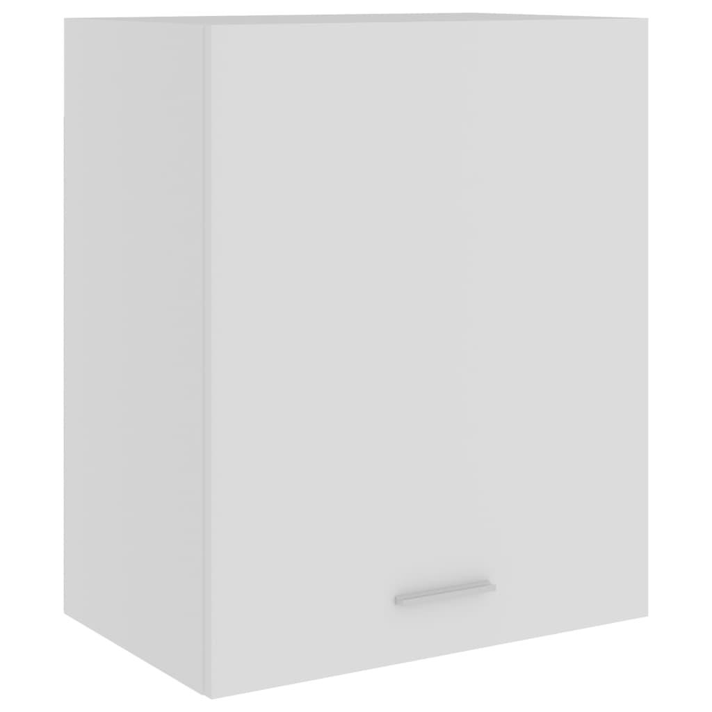 Horní skříňka bílá 50 x 31 x 60 cm dřevotříska