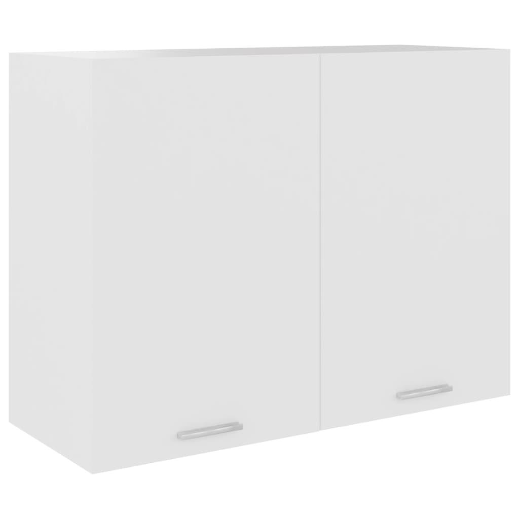 vidaXL Dulap suspendat, alb, 80 x 31 x 60 cm, PAL poza 2021 vidaXL