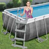 Bestway Flowclear 4-stufige Poolleiter 107 cm