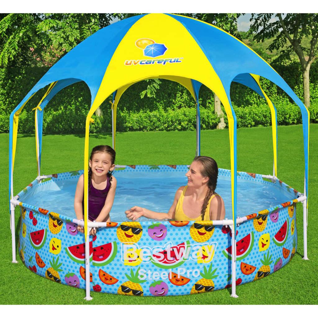 Bestway Nadzemní bazén pro děti Steel Pro UV Careful 244 x 51 cm